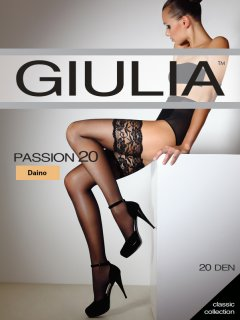 Чулки Giulia Passion 20 Den 3/4 Daino (4824092609530)