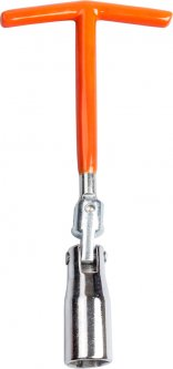 Ключ свечной на шарнире Lavita Strong Т-образный 16 x 200 мм (LA SPW016)