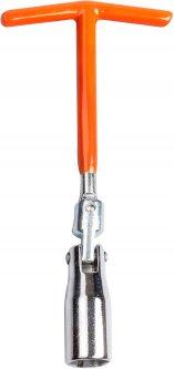 Ключ свечной на шарнире Lavita Strong Т-образный 21 x 200 мм (LA SPW021)