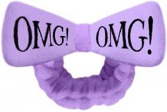 Бант-Повязка Double Dare для фиксации волос во время косметических процедур Omg! Hair Band-Purple Лавандовый 1 шт (812772011296)