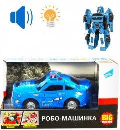 Машинка Big Motors Робо-машинка Полицейская (D622-H044A) (4812501162974)