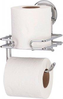 Держатель для туалетной бумаги на вакуумной присоске TEKNO-TEL DM275