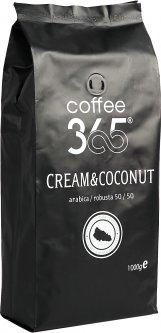 Кофе в зернах Cream & Coconut Coffee365 1000 г (4820219990178)