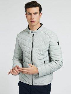 Куртка из искусственной кожи Guess M1RL05-WDN30 M Seaside Mist (7618483440522)