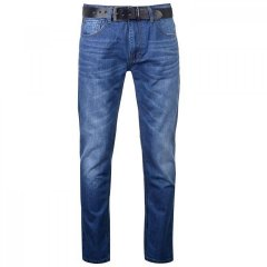 Джинси Crosshatch Lartoons Belted Medium Wash, 30W L (10100275)