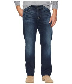 Джинси 7 For All Mankind Standard Straight in Justice Navy, 36W R (10157214)