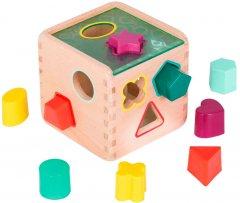 Развивающая деревянная игрушка-сортер Battat Волшебный куб (BX1763Z)