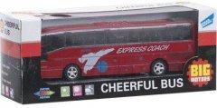 Автобус инерционный Big Motors красный (XL80136L-1) (4812501084191-1)