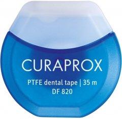 Зубная нить Curaprox тефлоновая с хлоргексидином 35 м (7612412820003/7612412428285)