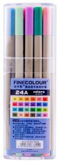 Набор маркеров Finecolour Liner 24 цвета (EF300-TB24A)