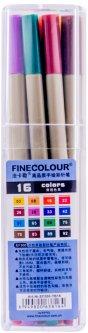 Набор маркеров Finecolour Liner 16 цветов (EF300-TB16)