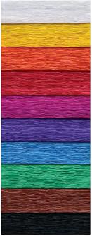 Набор креповой бумаги INTERDRUK MIX CLASIC из 10 цветов 200х50 см (992798)