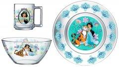 Набор детской посуды ОСЗ Disney Жасмин 3 предмета (18с2055 ДЗ Жасмин)