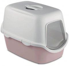 Туалет для кошек Stefanplast Cathy 56 х 40 х 40 см Нежно-розовый (8003507986442)