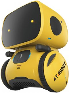 Интерактивный робот AT-Robot с голосовым управлением Жёлтый (AT001-03)