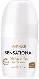 Женский роликовый дезодорант Farmasi Sensational 50 мл (1107495) (ROZ6400104104)