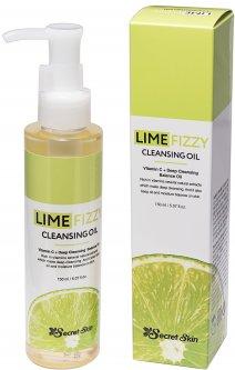 Гидрофильное масло с экстрактом лайма и витамином С Secret Skin Lime Fizzy Cleansing Oil 120 мл (8809540515362)