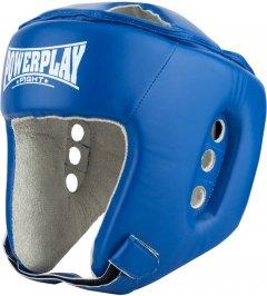 Боксерский шлем PowerPlay 3084 Синий XL тренировочный (PP_3084_XL_Blue)
