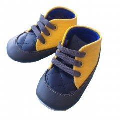 Пінетки Babymove 17 (11 см) Жовтий (2979360116134)