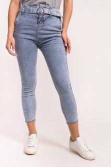 Женские стрейчевые джинсы M-M - джинс цвет, S (9010-1)