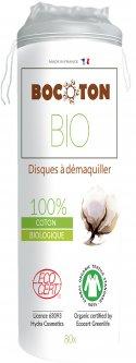 Ватные диски Bocoton Bio органические круглые 80 шт (3265660391173)