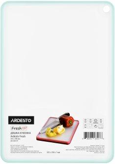 Разделочная доска Ardesto Fresh 20.5х29х0.7 см Голубая (AR1401TP)