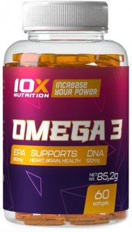 Жирные кислоты 10X Nutrition Omega 3 60 гелевых капсул (525272730832)