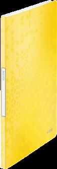 Папка пластиковая Leitz WOW А4 20 файлов Желтая (4631-00-16)