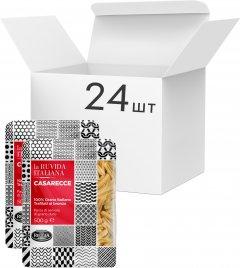 Упаковка макарон La Ruvida Casarecce bronzo 500 г х 24 шт (8008857126586)