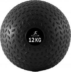 Мяч набивной для кроссфита ProSource Slam Ball Tread Slam Ball - 12 кг Чёрный (ps-2220-12)