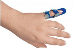 Ортез-шина для фаланги пальца Торос-Груп 501 размер 1 синий (4820192752633)