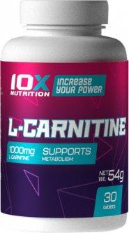 Жиросжигатель 10X Nutrition L-Carnitine 30 таблеток (525272730764)