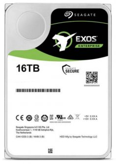 "Жесткий диск Seagate Exos X16 HDD 16TB 7200rpm 256MB ST16000NM002G 3.5"" SAS"