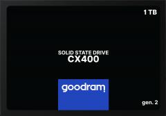 """Goodram CX400 Gen.2 1TB 2.5"""" SATAIII 3D NAND TLC (SSDPR-CX400-01T-G2)"""