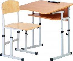 Комплект Сектор Гармония: парта и стул-трансформеры + пенал