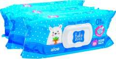 Упаковка влажных салфеток Baby Zaya Алое 3 пачки по 84 шт (2000525704689)