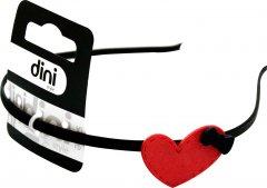 Обруч Dini Hand Made d-487 Сердце с бантиком (4823098403487)