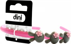 Обруч Dini Kids d-030 Зайчик серый (4823098405030)
