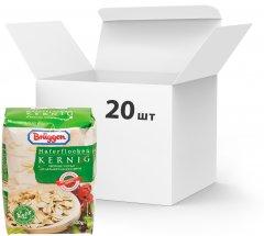 Упаковка овсяных хлопьев Bruggen Haferflocken Kernig из цельного зерна 500 г х 20 шт (4008713762198_4008713769425)