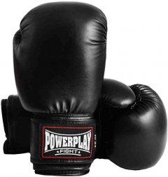 Боксерские перчатки PowerPlay 3004 18 унций Black (PP_3004_18oz_Black)