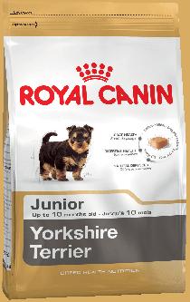 Royal Canin Yorkshire Junior для щенков породы йоркширский терьер в возрасте до 10 месяцев,, 7,5 кг