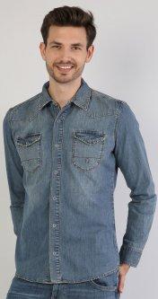 Джинсовая рубашка Colin's 023 Josh CL1040325DN02196 S Ernest Wash (8681597986520)