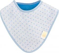 Непромокаемый слюнявчик-бандана Эко Пупс Abso Jersey Звездочки Синий (WBBJA012) (2100033770128)