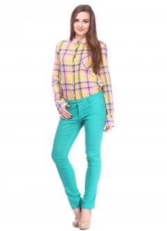 Джинси(3183.113) Pink Woman 3183.113 Зелений 34