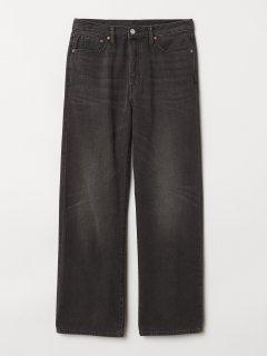 Вінтажні вільні джинси H&M 631868 L (56914L) Сірий