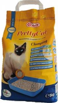 Наполнитель для кошачьего туалета Pretty Cat Classic без аромата Бентонитовый комкующий 5 кг (5948311200014)