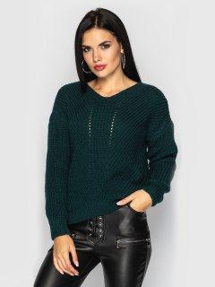 Пуловер Larionoff Paris 42-46 Бутылочный (Lari2000005347238)