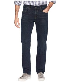 Джинси 7 For All Mankind The Straight Tapered Straight Leg in Contra Blue, 29W R (10152058)