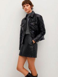 Куртка из искусственной кожи Mango 87060536-99 L (8445306053220)