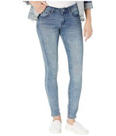 Джинси Bebe Rhinestone Logo Skinny Jeans in Axis Wash Unknown Color, 4XL (US 26) (10319693)